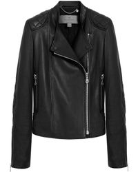 Mulberry Black Biker Jacket - Lyst