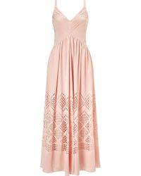 Temperley London Azure Strappy Dress - Lyst
