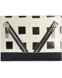 Kenzo Black Squares Clutch - Lyst