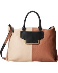See By Chloé Kim Sbc Zipped East-West Tote With Crossbody Strap - Lyst