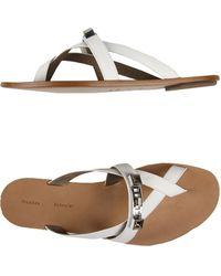 Proenza Schouler White Thong Sandal - Lyst