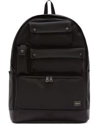 White Mountaineering Black Porter Edtion Backpack - Lyst