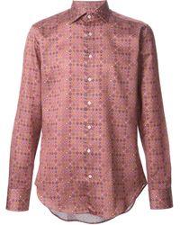 Etro Pattern Print Shirt - Lyst