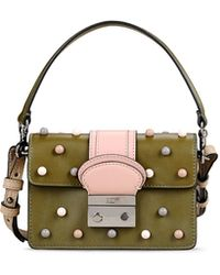 Red Valentino   Mini Shoulder Bag With Micro Multicolour Spheres   Lyst