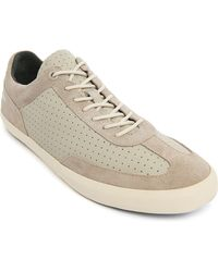 Camper Ceme Solid Colour White Leather Sneakers - Lyst