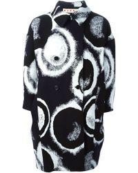 Marni Circle Print Coat - Lyst