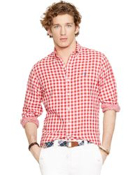 Polo Ralph Lauren Double-Faced Checked Shirt - Lyst
