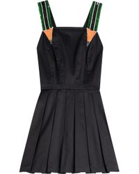 Olympia Le-Tan Hymers Flared Cotton Dress multicolor - Lyst