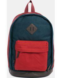 Asos Backpack in Color Block - Lyst