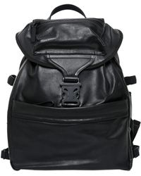 Alexander McQueen Leather Backpack black - Lyst