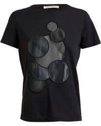 Christopher Kane Molecule Cotton Cashmere T-Shirt - Lyst