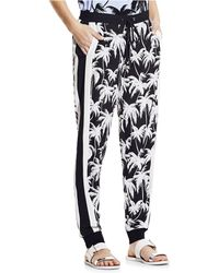 Vince Camuto Palm Tree Track Pants - Lyst