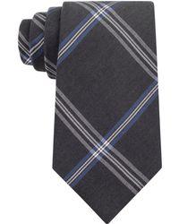 Calvin Klein Onyx Black Wash Denims Slim Tie - Lyst
