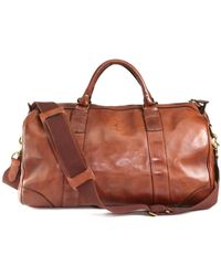 Polo Ralph Lauren Leather Gym Bag - Lyst