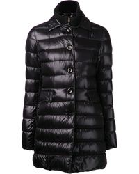 Herno Black Padded Jacket - Lyst