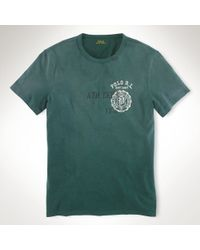 Polo Ralph Lauren Athletic Crest Tshirt - Lyst