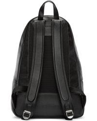 Juun.J - Black Leather Backpack - Lyst