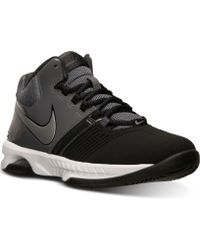 Nike Mens Air Visi Pro 5 Nubuck Basketball Sneakers From Finish Line - Lyst