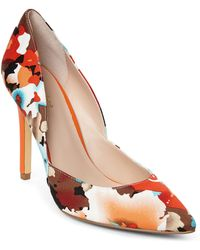 Charles by Charles David Parker Floral Pumps - Lyst