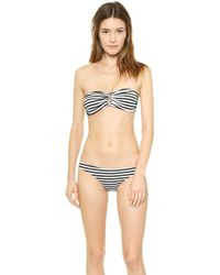 Zimmermann Wide Link Bikini Top - Wide Stripe - Lyst