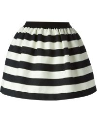 Isola Marras - Striped Puff Skirt - Lyst