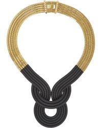 Lara Bohinc - Lunar Eclipse Gold Plated Necklace - Lyst