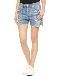 Citizens of Humanity Corey Relaxed Shorts - Skylite - Lyst