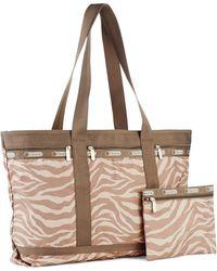 LeSportsac - Plus Printed Travel Tote Bag - Lyst