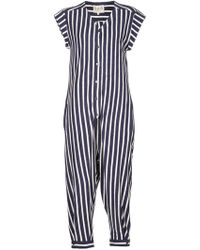 Sea | Sea Striped Jersey Jumpsuit | Lyst