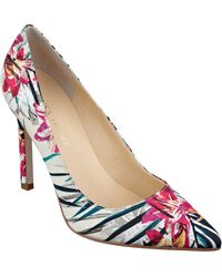 Ivanka Trump Multicolor Pointed-Toe Pumps - Lyst