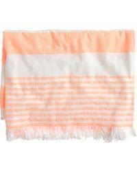 J.Crew Nine Space™ Carmel Beach Towel orange - Lyst