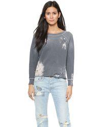 Nsf Clothing Gray Carolina Sweatshirt  - Lyst