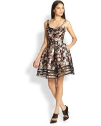 Sachin & Babi Facet Floralprint Dress - Lyst