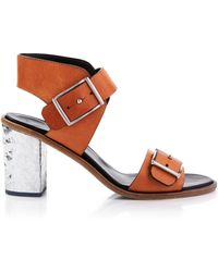 McQ by Alexander McQueen Ankle Strap Sandals - Crush Two-Strap City - Lyst