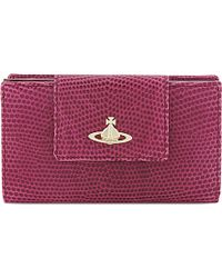 Vivienne Westwood Small Leather Foldover Wallet - For Women - Lyst
