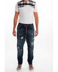 Balmain Dropped Crotch Jeans - Lyst