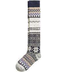 H&M Wool-blend Knee Socks - Lyst