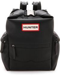 Hunter Deepsea Backpack  Black - Lyst