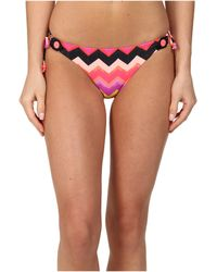 Seafolly Soundwave Brazilian Tie Side - Lyst