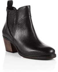 BOSS Orange - Chelsea Ankle Boots 'Ivette' In Leather - Lyst