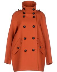 Burberry Brit Coat - Lyst