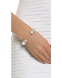 Vita Fede - Obsedia Crystal Full Pave Bracelet - Silver/clear - Lyst
