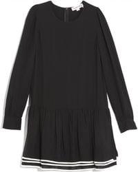 See By Chloé Drop Waist Dress - Lyst