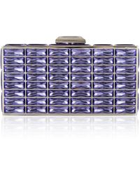 Judith Leiber New Goddess Clutch in Blue - Lyst