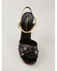 Saint Laurent - 'Bianca' Sandals - Lyst