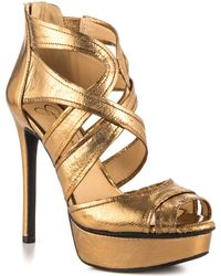 Jessica Simpson Gold Cheere - Lyst