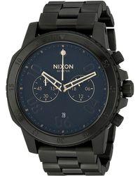 Nixon The Ranger Chrono black - Lyst