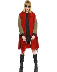 That's It Wool Jacket with Bomber Style Sleeves - Lyst