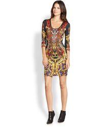Just Cavalli Gypsy Print Dress - Lyst