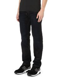 G-star Raw Attacc Low Regularfit Straight Jeans Indigo Aged - Lyst